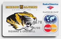 Missouri Tigers Credit Card